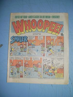Whoopee issue dated April 24 1982