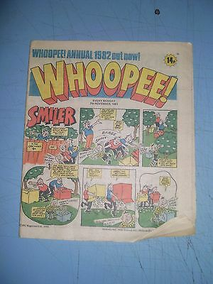 Whoopee issue dated November 7 1981