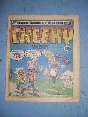 Cheeky issue dated November 17 1979