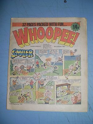 Whoopee issue dated August 8 1981