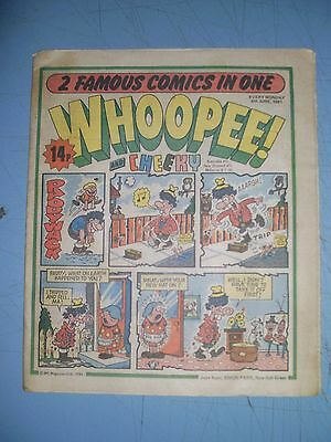 Whoopee issue dated June 6 1981