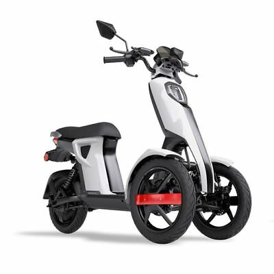iTango Scooter Electrico Adulto e-scooter Tres ruedas USB Bluetooth 45kmh BLANCO
