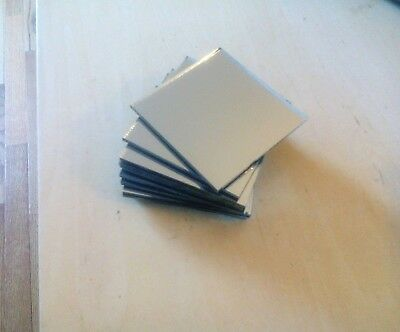 "Decorative Mirror Tiles - 3x3"" Lot of 15"