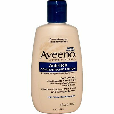 New Aveeno Active Naturals Anti-Itch Concentrated Lotion Skin Care Health Body
