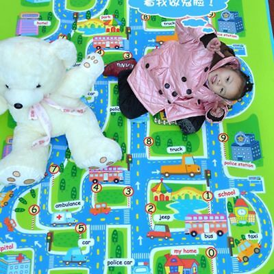 Funny Baby Portable Toys City Carpet Play Mat Children Rug Waterproof