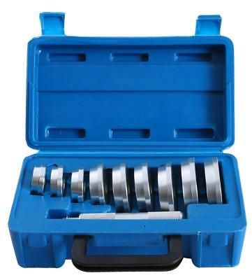 10pc Bearing Race and Seal Driver Set | Automotive Bushing Installer Remover Kit