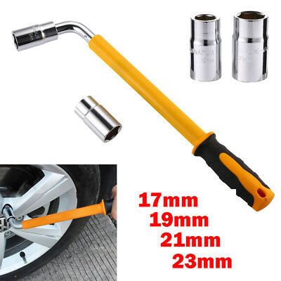 Handy Extendable Wheel Slip Tire Brace Wrench Car Socket Tyre Nut 17 19 21 23 mm