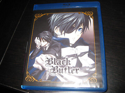 Black Butler SEASON 1 DVD/BLU RAY BOX SET- MISSING DISC 4 FREE SHIPPING