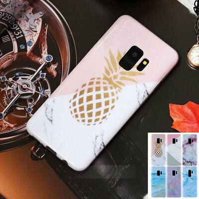 Tpu Printed Marble Painted Pattern Phone Case Cover For Samsung Galaxy S9 S8