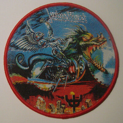 Judas Priest - Painkiller Woven Patch Halford Fight Saxon Accept Megadeth