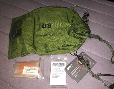 US Military Gas Carrier Bag Pouch Olive Bag Only No Mask