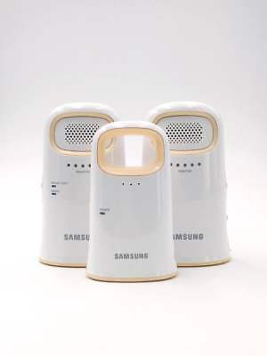 Samsung SEW-2002W Secured Digital Wireless Baby Audio Monitor with 2 Parent Unit