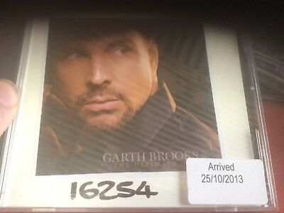 Ex radio station cd lp garth brooks the ultimate hits 10 track sampler very rare