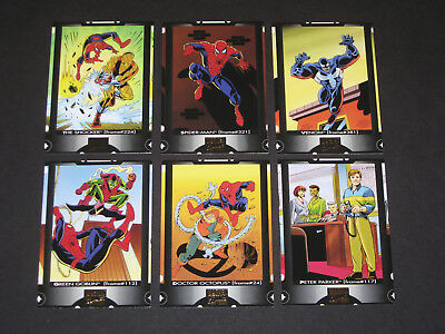 SPIDERMAN ~ © 1994 Marvel Comics Super Heroes Cookie Crisp Mail-In 6 Card Set