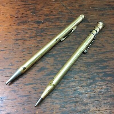 LOT X2 c.1920's WAHL-EVERSHARP GOLD-FILLED PROPELLING PENCILS USA & ENGLAND