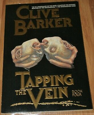 Clive Barker's TAPPING THE VEIN, BOOK 4, 1990