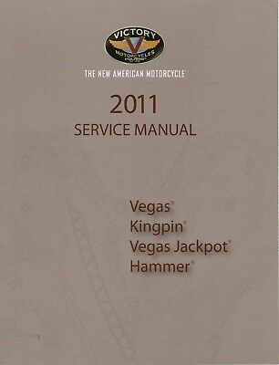 Victory Service Workshop Shop Manual 2011 Kingpin Ness Signature Series