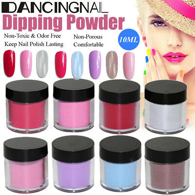 10ML Nail Dipping Powder without Lamp Cure Dip Powder Nails Natural Dry Beauty
