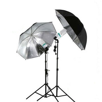 Photography Umbrella For Lamp Video Photo Studio Kit Light Continuous Soft White