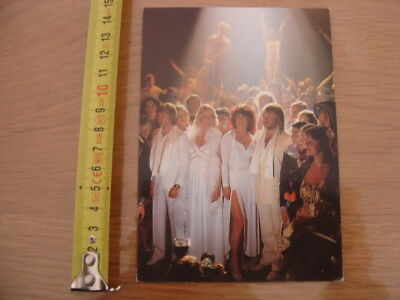 Carte photo ABBA musicien MUSIQUE Super Trouper POLAR MUSIC