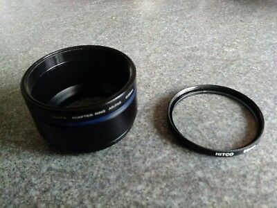 FUJI FINEPIX ADAPTER RING AR-FX5 + 55mm UV Filter For S5000 SERIES