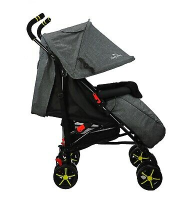 New Baby Star, Parent Facing Pushchair Lightweight Baby Stroller Buggy 0M+