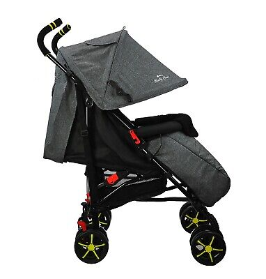 The NEW UK BRAND, BABY PUSHCHAIR LIGHTWEIGHT BABY STROLLER BUGGY 6 + MONTHS