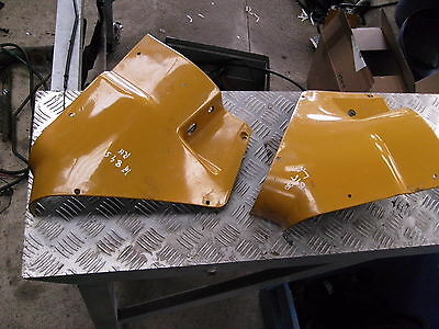 Case 495 L CAB dash side panels in good condition.