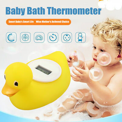 Digital LCD Baby Bath Thermometer Floating Duck Toy Water Temperature tester