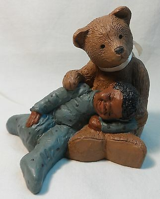 "All Gods Children ""paddy & Luke"" Martha Holcombe Figurine"