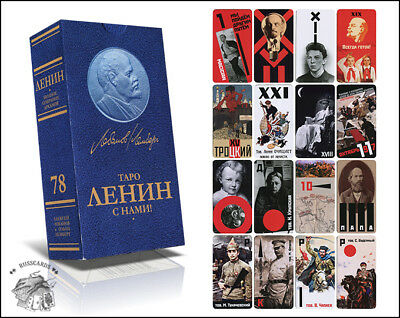 Tarot LENIN WITH US / fortune-telling cards / playing cards