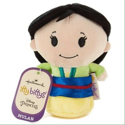 Hallmark Itty Bitty Bittys Disney's MULAN Princess RETIRED Plush NEW with Tags