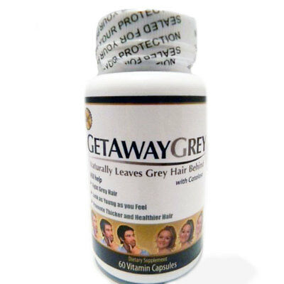 Get Away Grey Pills 60 Vitamin Capsules Bargain Clearance bankruptcy Ltd Quantty