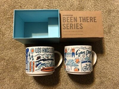 "Starbucks San Diego and Los Angeles version 1 ""Been There Collection"" Mug NWT"