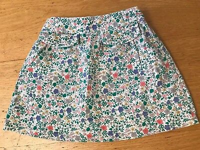 Baby Girls Needlecord Floral Mothercare Skirt 12 - 18 months New
