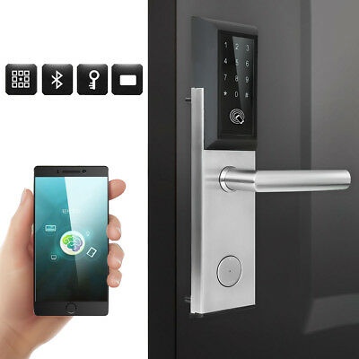 Bluetooth Digital Password Smart Card Door Lock Keypad Touch Screen