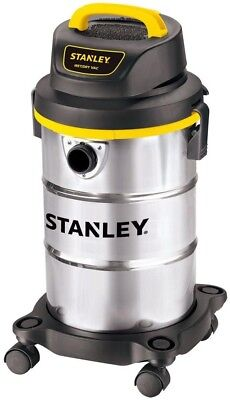 Wet Dry Vacuum Cleaner Stanley 5gal Strong Suction Durable Cleaning System NEW