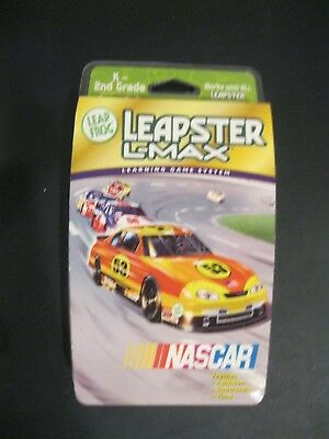 Leap Frog Leapster L-max Educational Game Nascar