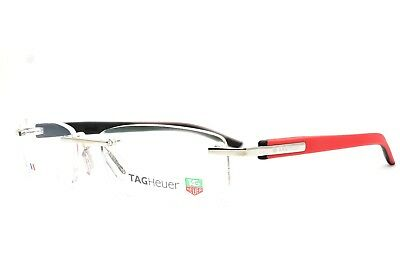 TAG HEUER TRENDS 8108 005 54-17-140 Rimless New Authentic Eyeglasses