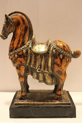 Vintage Style Ceramic Tang Dynasty War Horse
