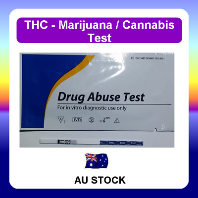Urine Drug Test Screen Testing Kit STRIPS for THC (Marijuana)