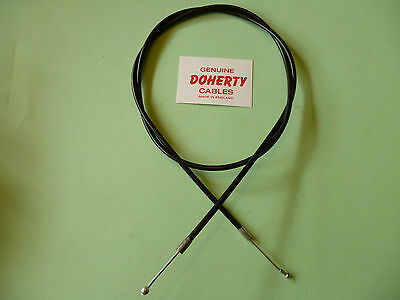 Bsa Bantam D1 D3 Throttle Cable 'new'  90-8535 Uk Made Genuine Doherty