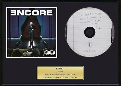 EMINEM - Framed CD Presentation Disc Display
