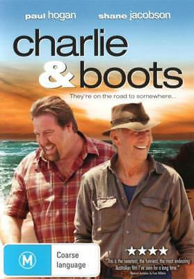Charlie & Boots - DVD (NEW & SEALED)