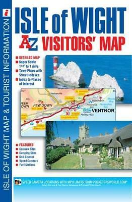 Isle of Wight Visitor by Geographers' A-Z Map Company New Sheet map  folded Book
