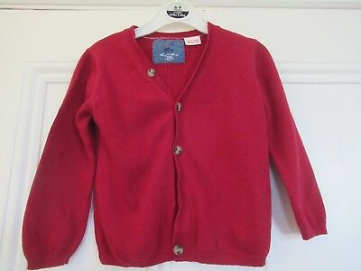 18-24m: Lovely soft red cardigan: Wool-blend: ZARA: Good condition