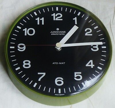 JUNGHANS WALL CLOCK - RETRO -MADE IN GERMANY 1970s-80s
