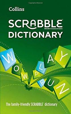 Collins Scrabble Dictionary by Collins Dictionaries New Paperback Book
