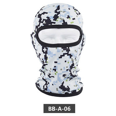 Camping Fishing Face Shield Sun Mask Neck Gaiter Scarf Outdoor New Headwear