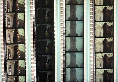 4 Fragments du Film 35 mm Star Wars l'EMPIRE CONTRE ATTAQUE. Cell. CHEWBACCA